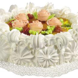 Торт с красивым украшением
