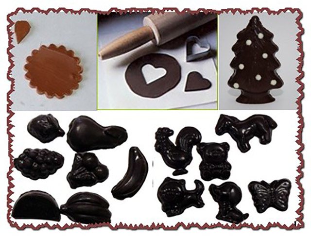 Набор для украшения шоколадом