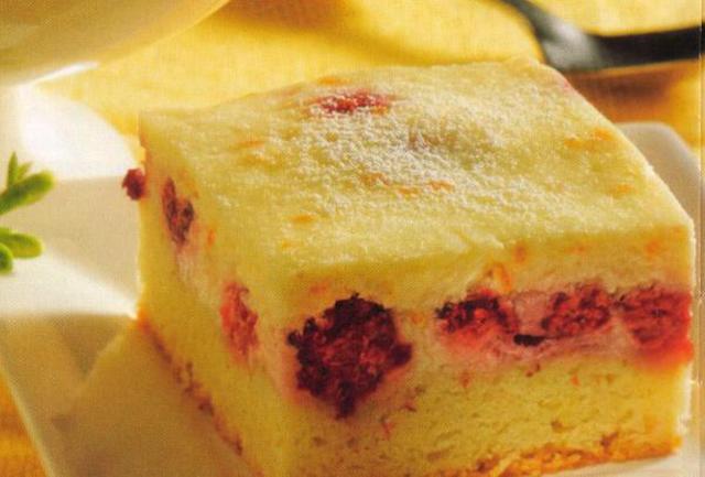 Ягодный торт со сковородки