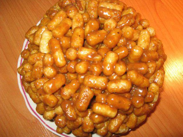 Кукурузный торт