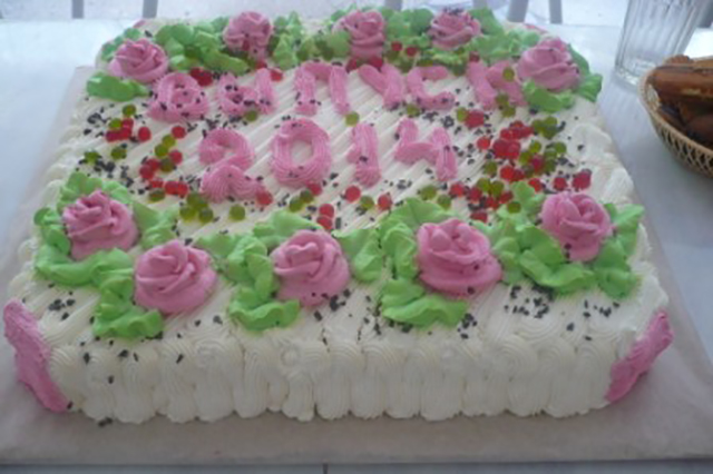 Торт выпуск 2014