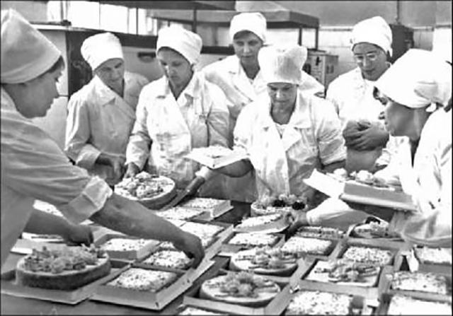 Пекарня в СССР