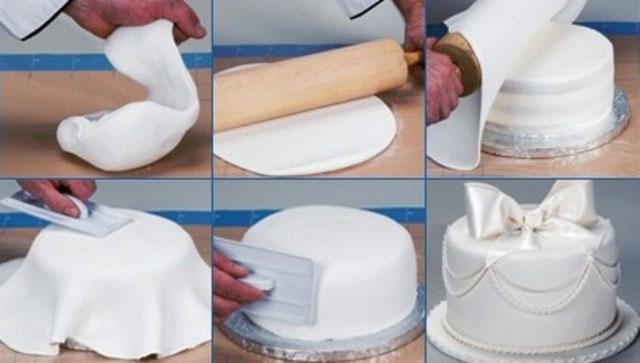 пошаговый рецепт приготовления торта с мастикой