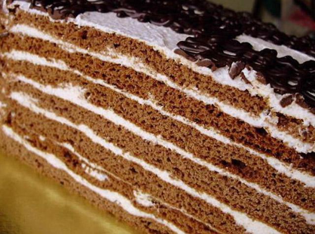 Рецепт шоколадно-медового торта с фото