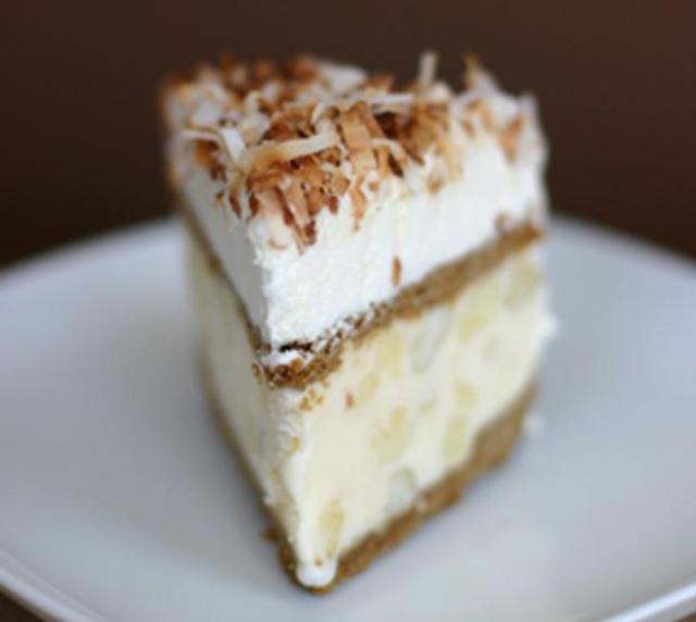 Кусок торта - мороженного