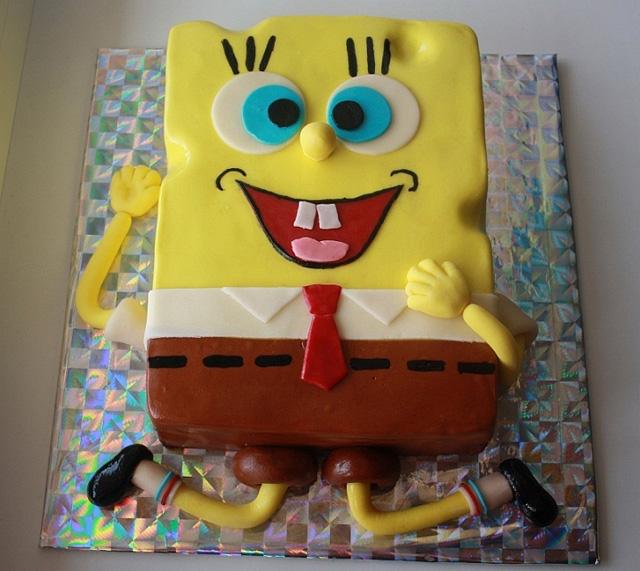 Торт Губка-Боб