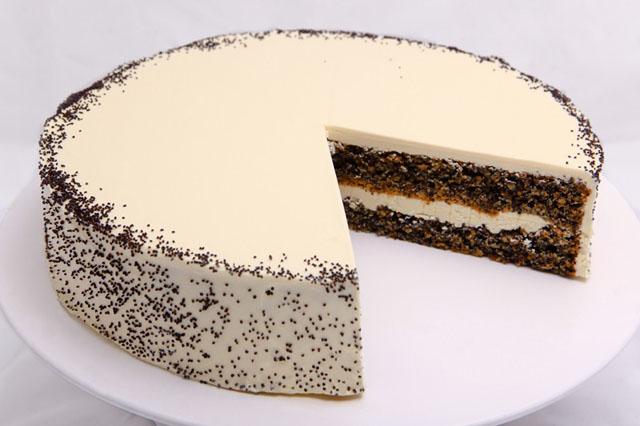 торт с маком пошаговый рецепт фото