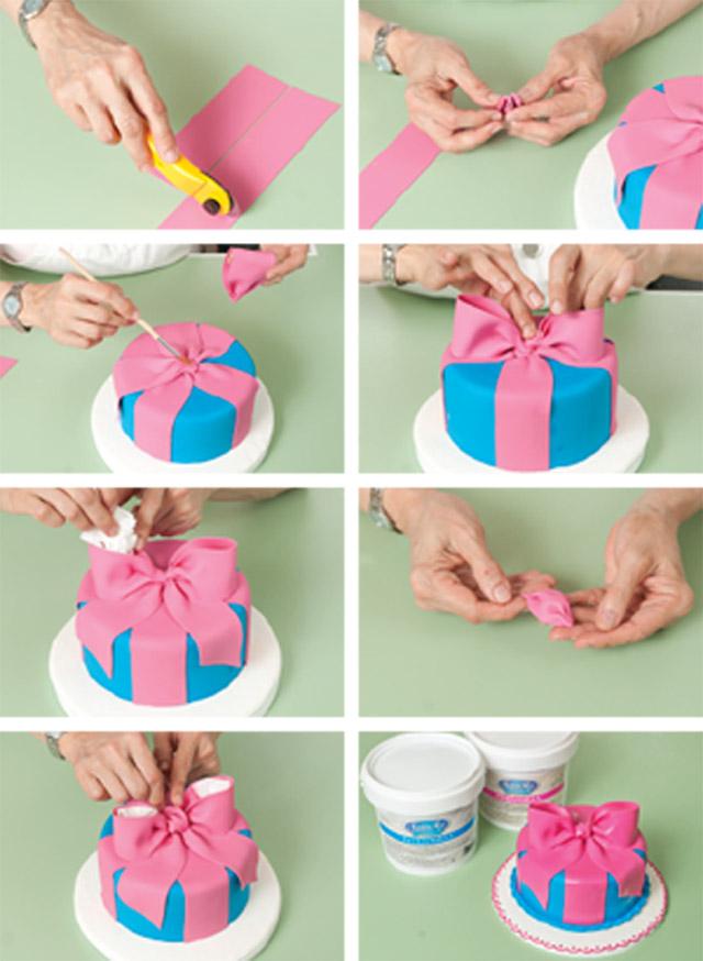 Украшения тортов мастикою в домашних условиях
