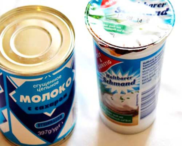 Как сделать густой крем из сгущенки и сметаны
