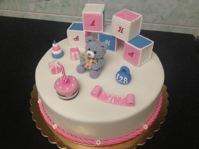Праздничный торт для ребенка