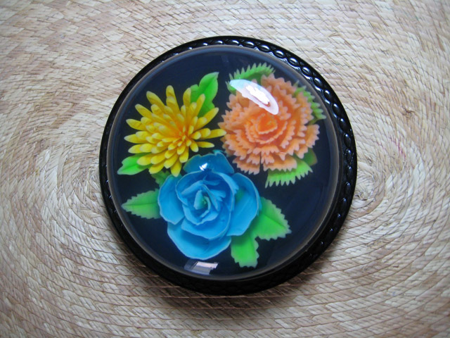 Желейный торт с цветами