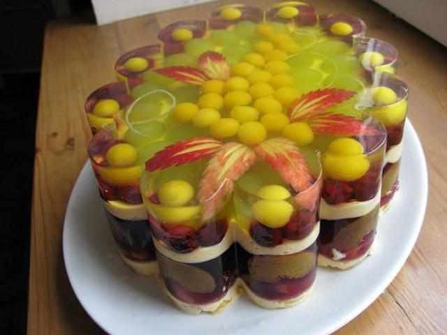 Как сделать торт из фруктов рецепт