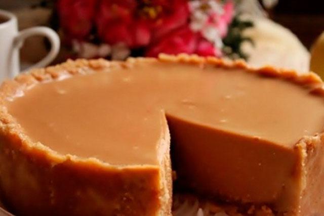Орехово-молочный торт