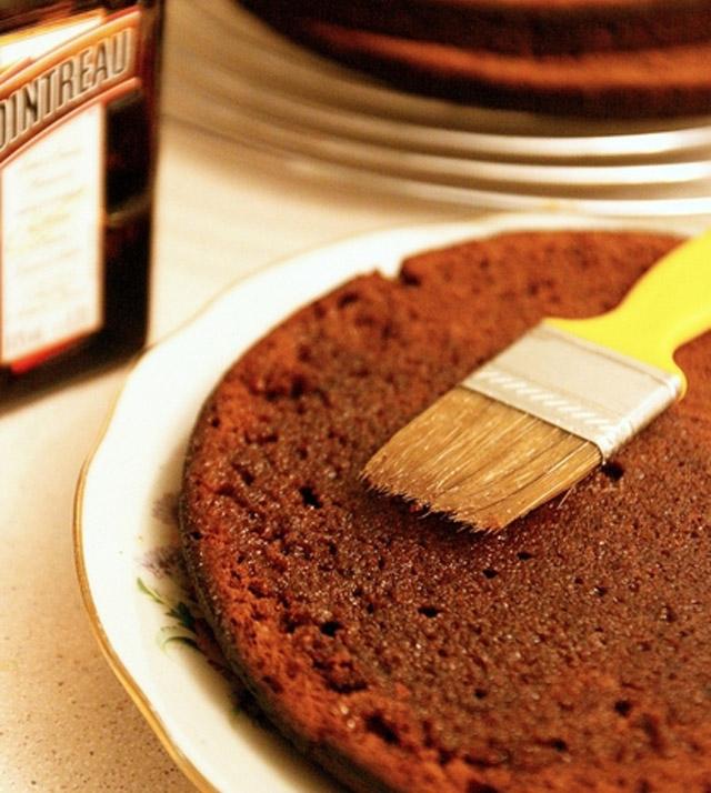 Кисточка для пропитки торта