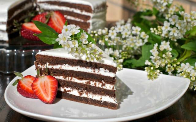 рецепты с фоточеремухового торта