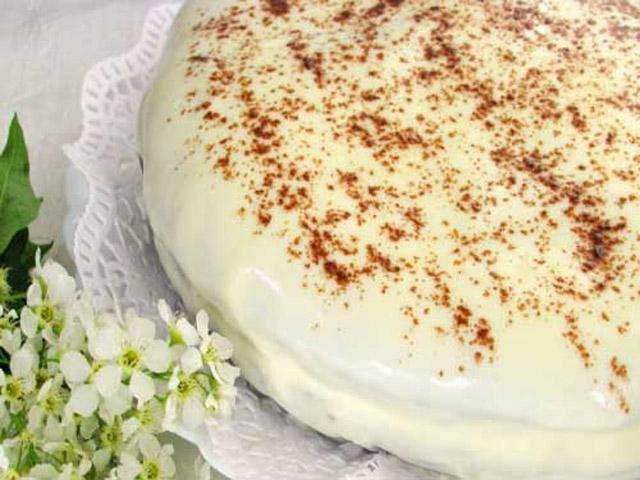 Торт и черемуха