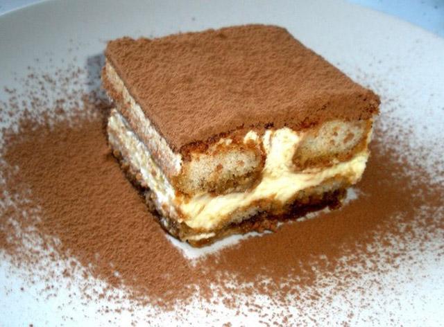Тирамису с шоколадом