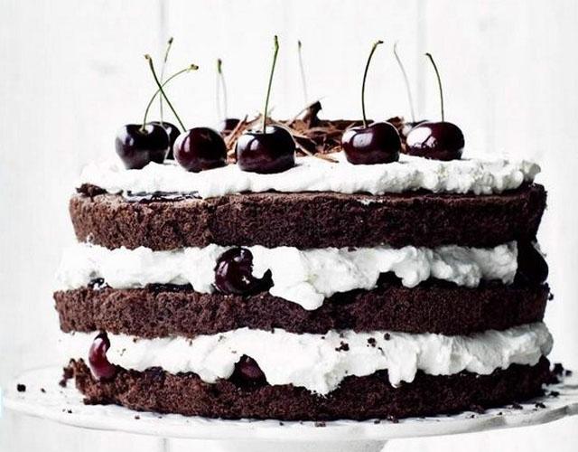 Торт черный лес рецепт пошаговый рецепт с