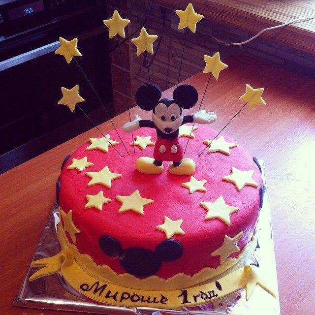 Торт с Микки