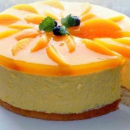 Торт с апельсином