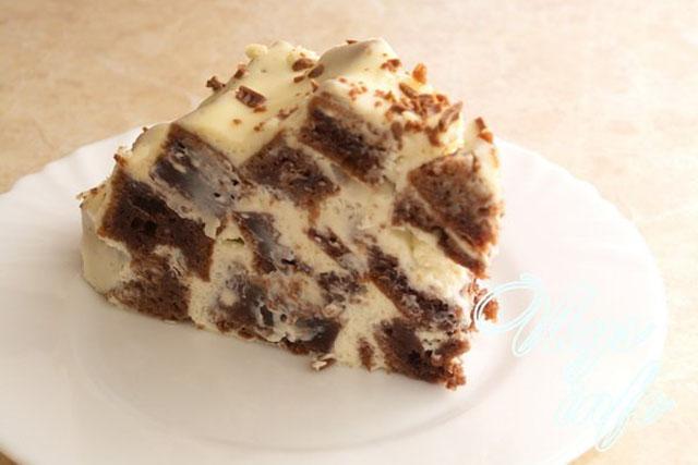 торт сметанная горка рецепт с фото