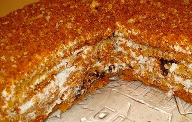 Торт на поставке