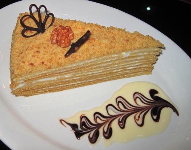 Медовый десерт