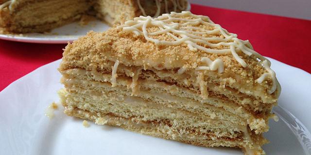 Приготовить медовый торт быстро и вкусно