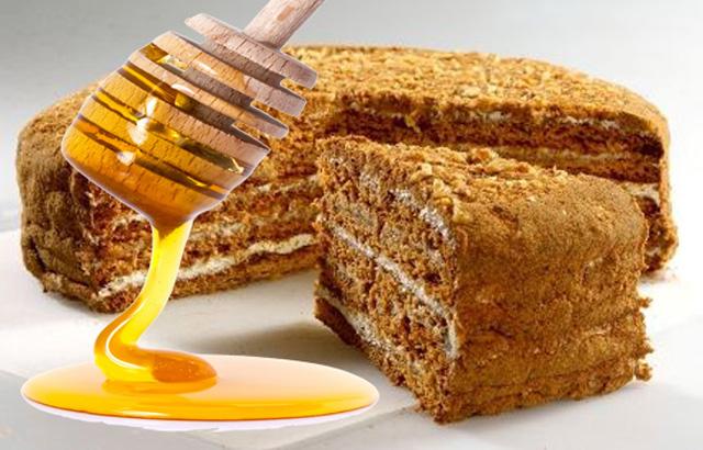Мед и торт