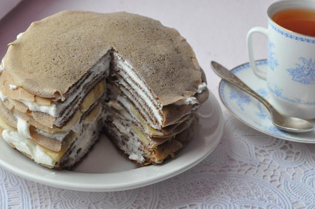 Торт со сгущенкой