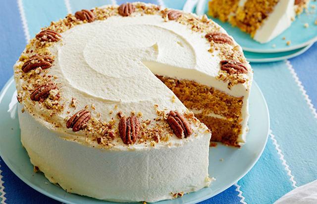 Торт с орешками