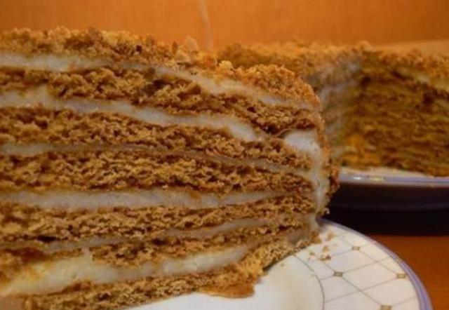 Торт медовый в домашних условиях с заварным