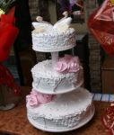 Украшения на свадебные торты из заварного белкового крема