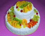 Фрукты на торте – возобновление старых традиций бисквита