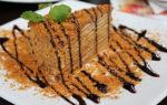 Медовый торт со сметанным кремом классический рецепт