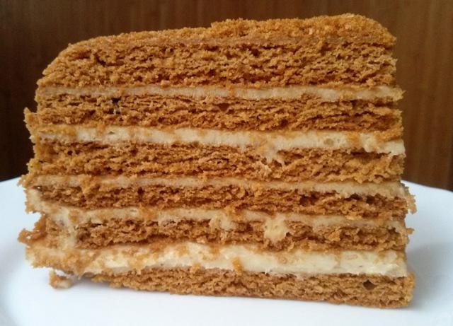 Тесто на медовый торт