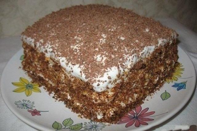 Медовый торт с пропиткой