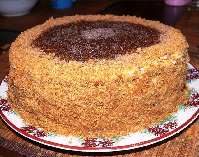 Вкусный медовый торт рецепт в домашних условиях с фото