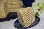 Медовый торт на сковородке приготовление  любимого блюда
