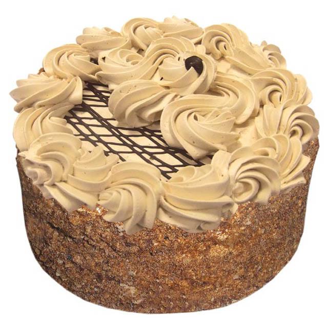Торт Рыжик с кремом