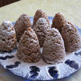 Муравейник, сделанный из печенья – торт на скорую руку