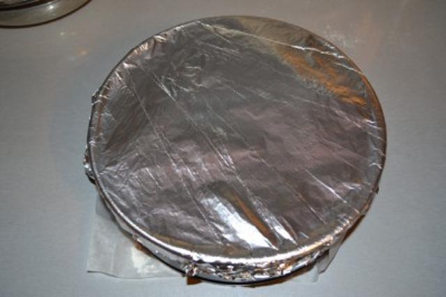 Фольга на торте