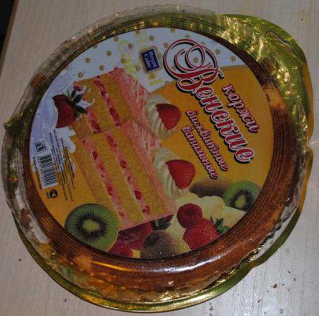 Крем для торта из готовых коржей