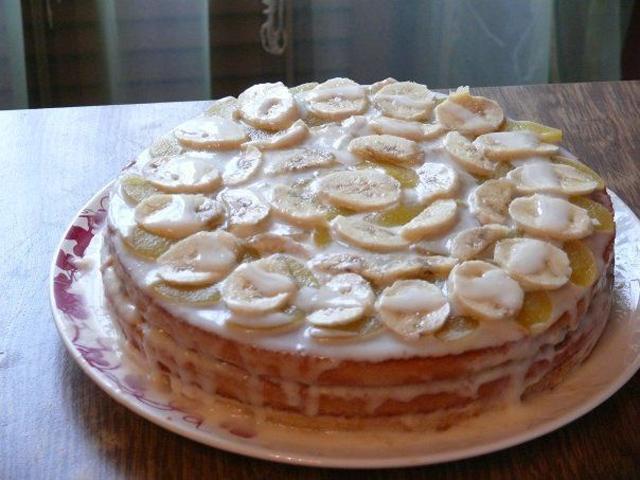 Как красиво сделать торт из коржей 298
