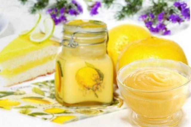 Лимонный заварной крем рецепт