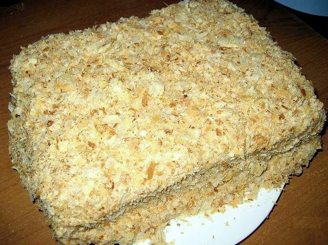 Торт наполе рецепты с фото