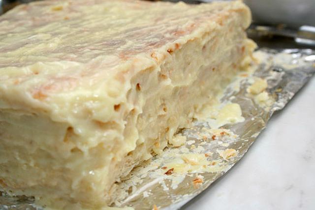 Рецепт крема для торта наполеон