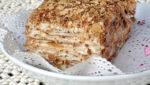 Приготовление торта наполеон на домашней кухне