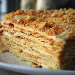 Классический рецепт торта Наполеон – привет из советского прошлого