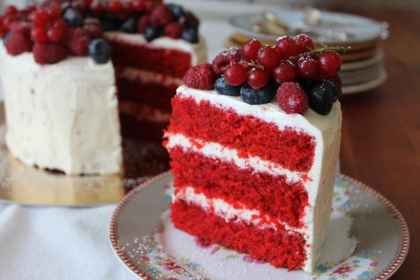 Торт Красный бархат - оригинальный рецепт